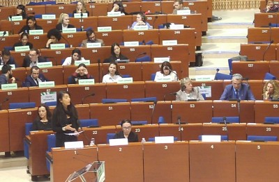 clrae_rapporteur_elmrini_in_dialogue_at_plenary_eurofora_400