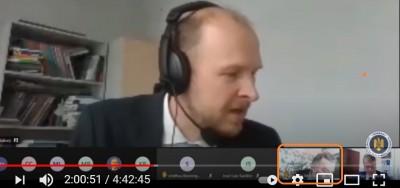 coeromaniavenice_com_elections_prof._kask_reply_to_agg_quest_coe_video_eurofora_screenshot_400