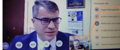 coeromaniavenice_com_elections_prof._tonea_reply_to_agg_quest_a_coe_video_eurofora_screenshot_400