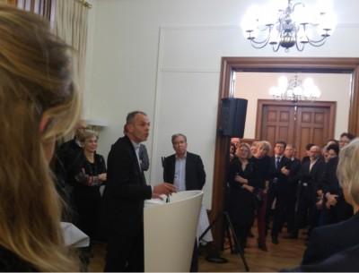 eavo_chief_economist_fontaine_addressing_invitees_at_its_coes_hq_eurofora_400