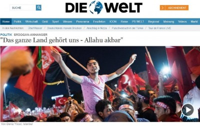 erdogans_fans__allahu_akbar_for_crashing_secular_coup_attempt__german_newspapre_welt_400