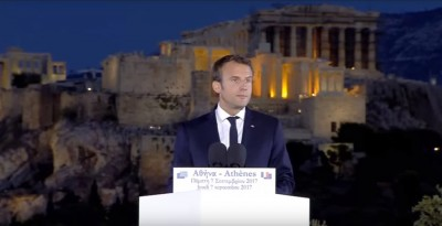french_president_macron_at_pnyx_hill_near_acropolis_eurofora_screenshot_400