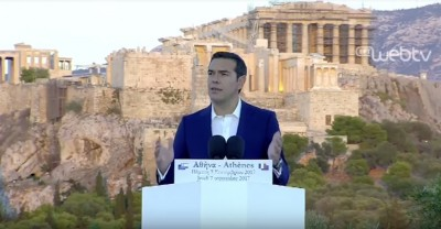 greek_prime_minister_tsipras_at_the_pnyx_welcomes_macron_eurofora_screenshot_400