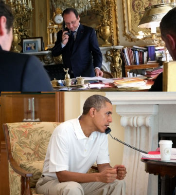 hollande_ear_phones_with_obama_400