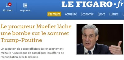 mueller_throws_a_bomb_against_usa_russia_helsinki_reconciliation_summit_french_newspaper_figaros_headlines_eurofora_screenshot_400