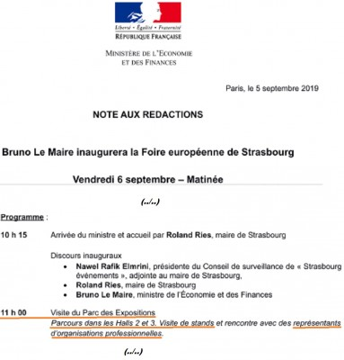 official_program_for_the_medias_of_french_minister_le_maire_as_sent_to_eurofora_400