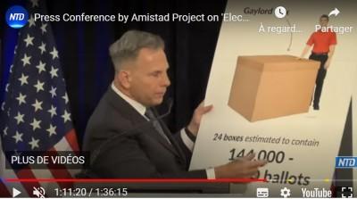 us_elec_fraud_amistad_project_press_conf_on_lorry_24_boxes_150.00_ballots_amistad_video__eurofora_screenshot_400